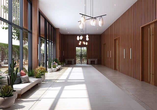 Pre-reception space