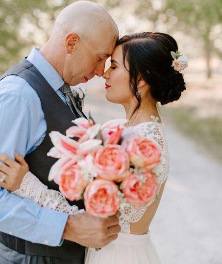 On-Site Bridal Hair