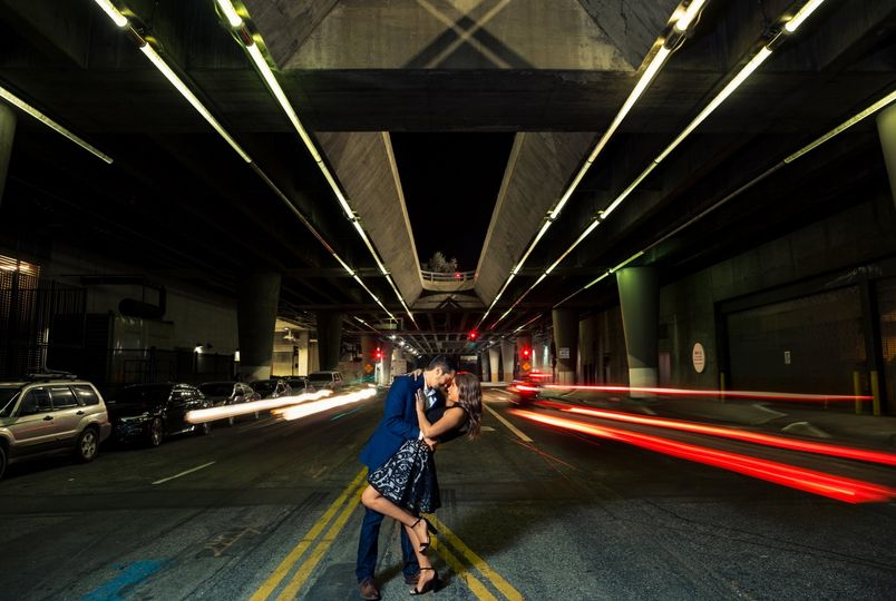 DTLA night engagement