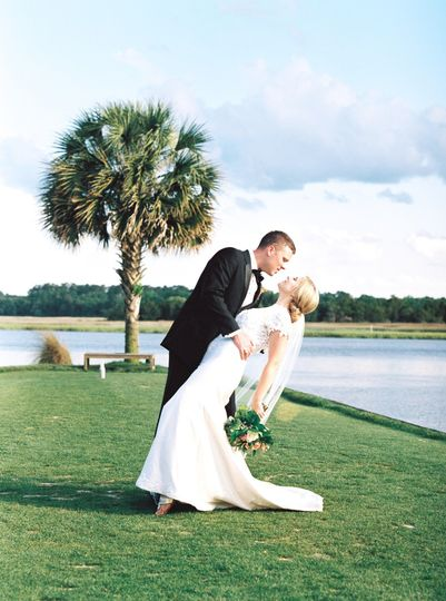 charleston wedding bride groom portrait palm 51 718413 1555963074
