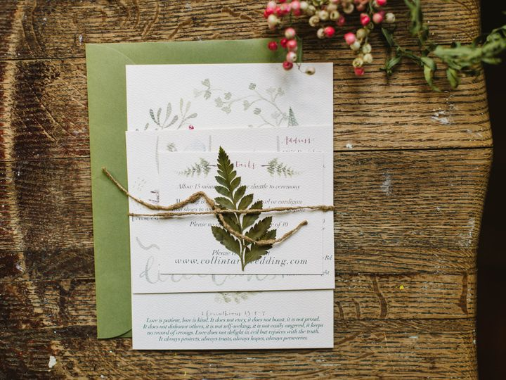 Tmx 1447983408032 Karilee 5 Hartford, CT wedding invitation