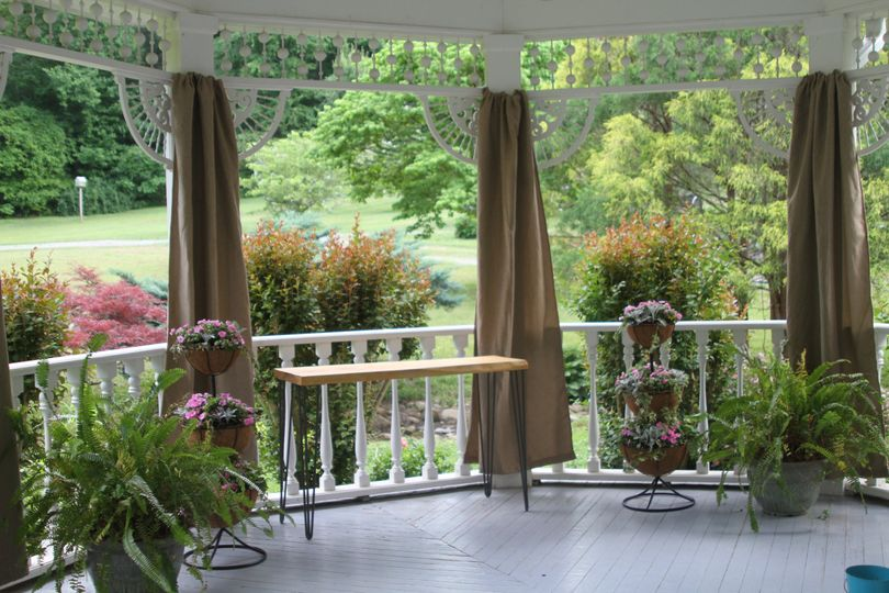 Porch gazebo