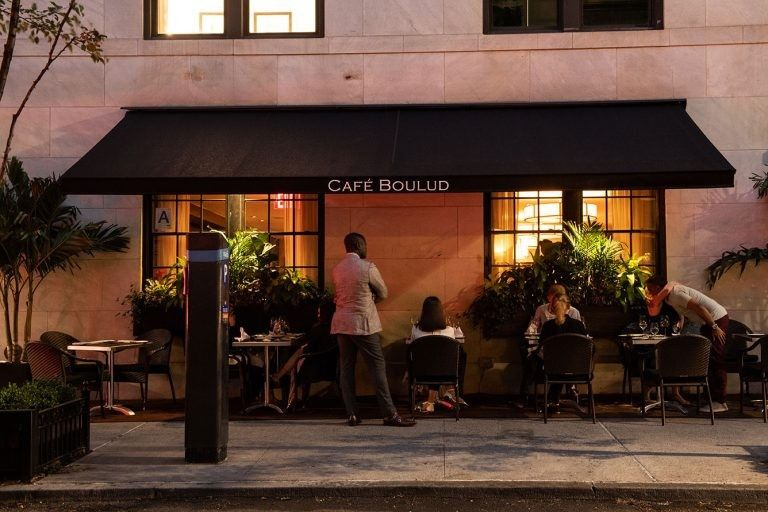 Cafe Boulud - outdoor dining
