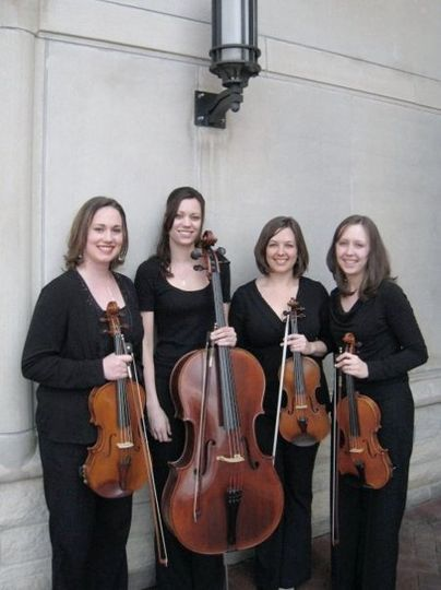 Violinists and cellist