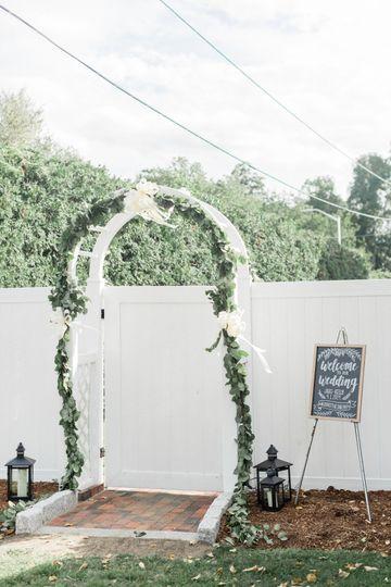 Reception Arch