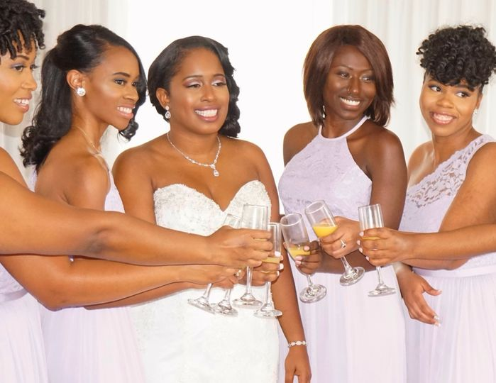 Bridesmaid toast