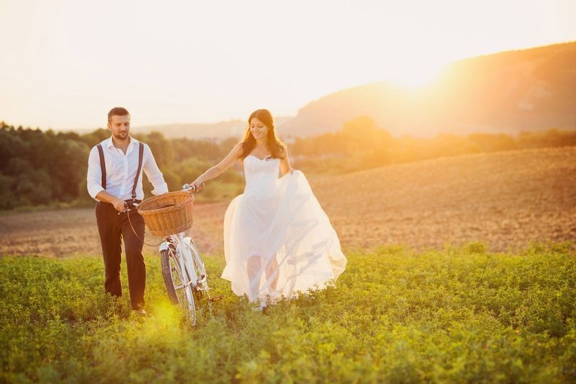 bigstock bride and groom with a white w 57547220 1