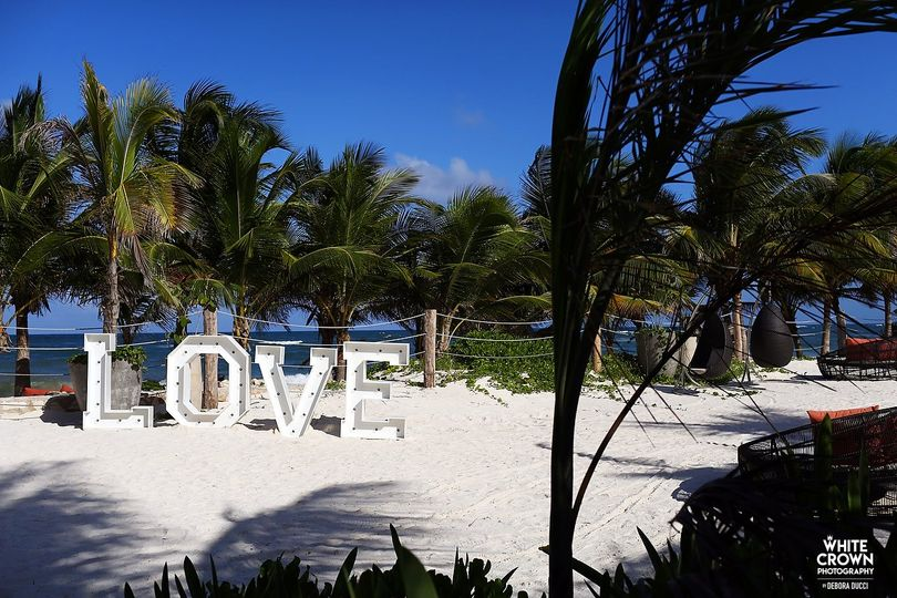 Love is in the sand