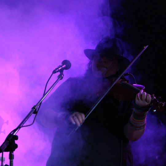 Violet smoke | Photo by carrie griesemer