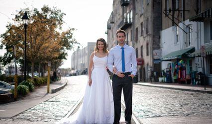 The wedding of DeNondrea and Kordell