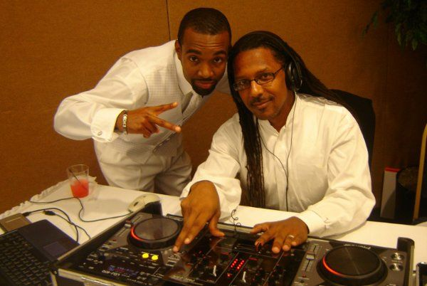 DJ and guest