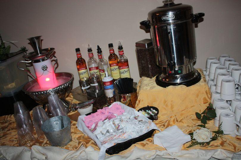The refreshments