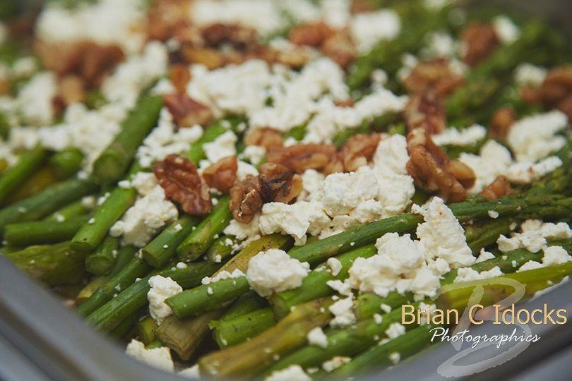 Feta asparagus