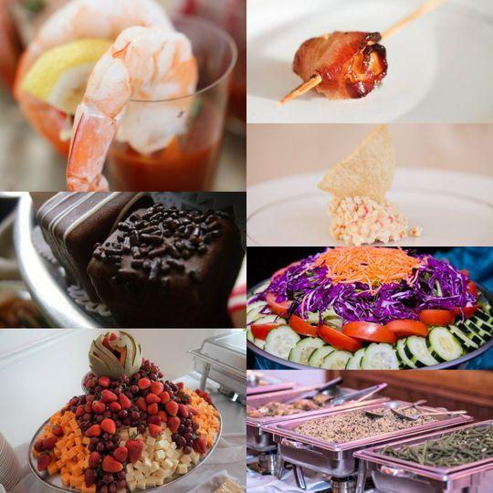 Some popular menu items