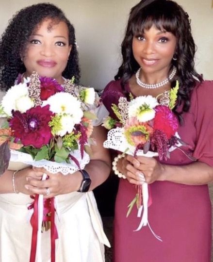Bride & Maid of Honor