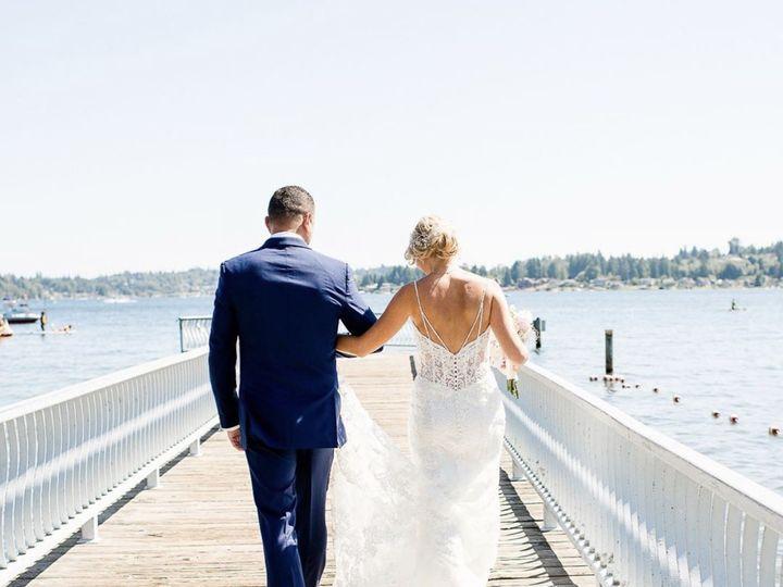 Tmx Linzi And Hubby On Dock 51 1276513 159825132149364 Seattle, WA wedding beauty