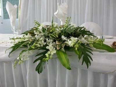 Bridal Table Centerpiece 1
