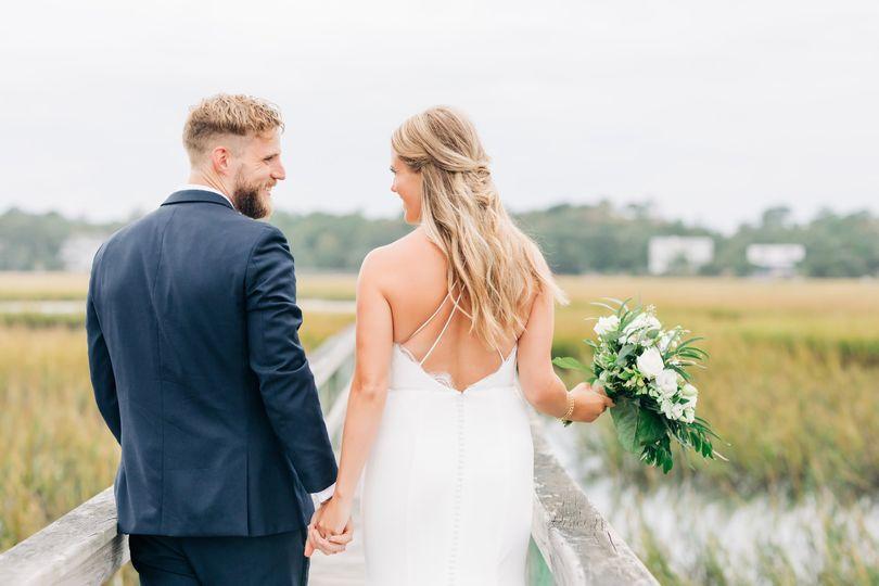 On-location wedding