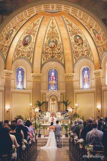 Church wedding | RRG Wedding Photography