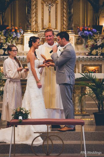 Exchange of vows | RRG Wedding Photography