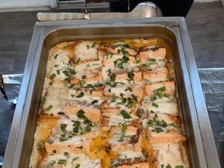 Tmx Salmon With An Asparagus Sauce Buffet 51 729513 162030953590112 Woodbridge, VA wedding catering