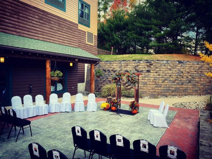 Fall Courtyard Ceremony