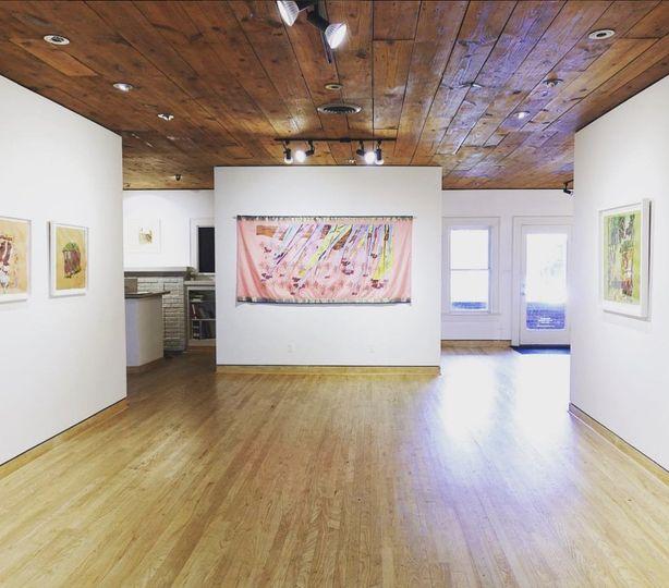 Flatland gallery main room