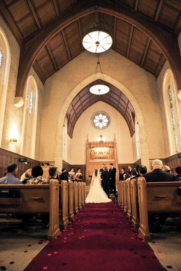 Stewart Chapel, 170 guests. Walk out to Geneva Terrace for an outdoor reception