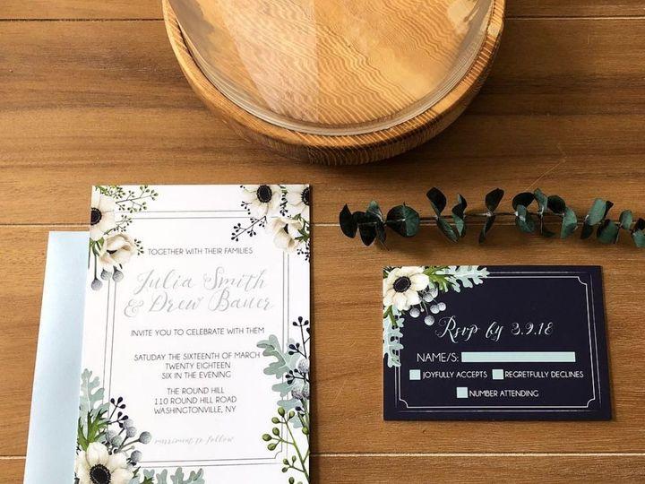 Tmx 1535827731 E7b38b07f704a42b 1535827729 94a7b2596023de64 1535827708289 7 Screen Shot 2018 0 Warwick, New York wedding invitation