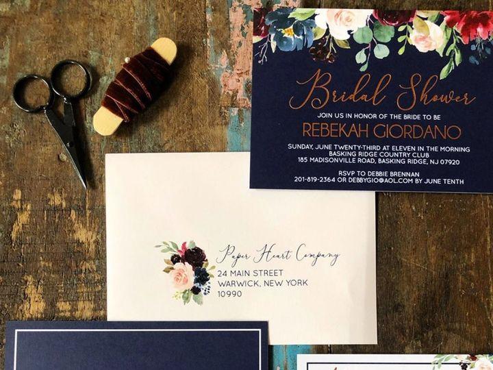 Tmx Screen Shot 2019 07 31 At 11 38 15 Pm 51 691613 1564630744 Warwick, New York wedding invitation