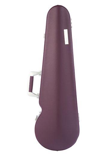 Contoured violin case
