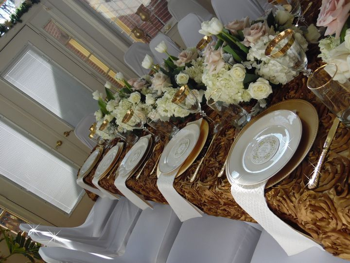 Table Decor & chair covers