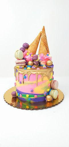 Hot Cone Summer Cake