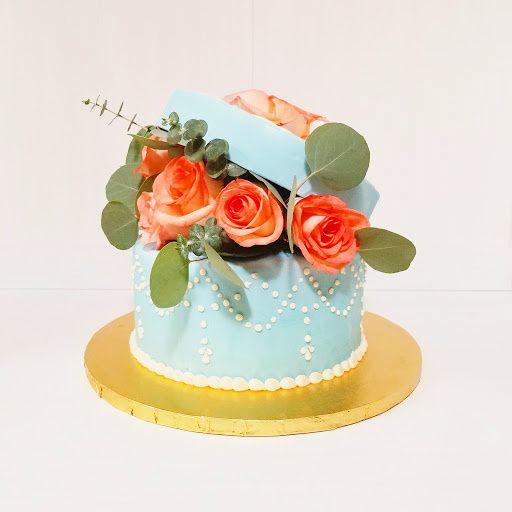 Fresh Flower Cake Box