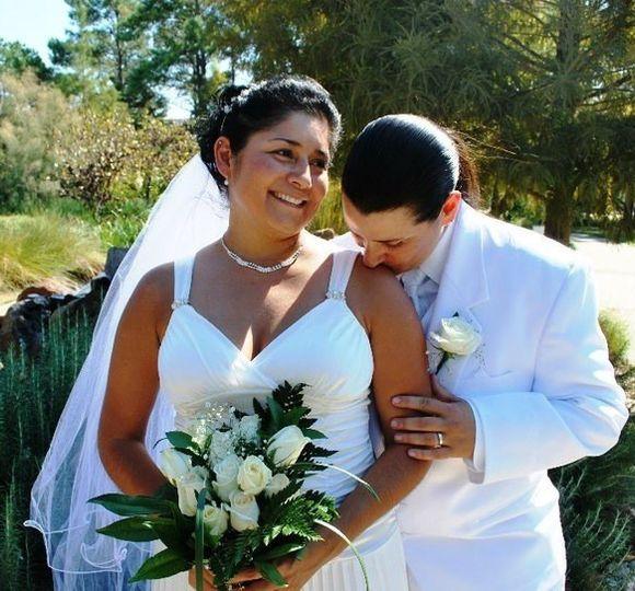 rebecca and mary wedding