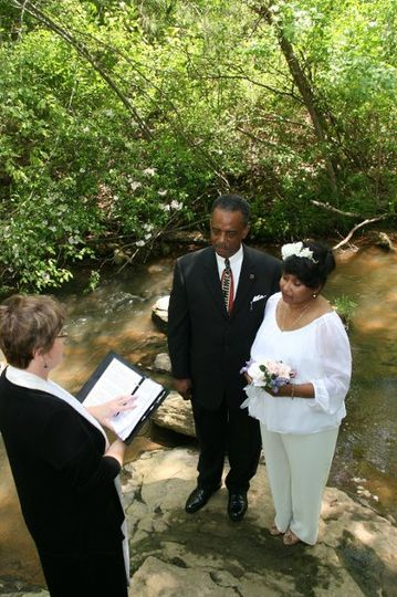 Wedding in the springs