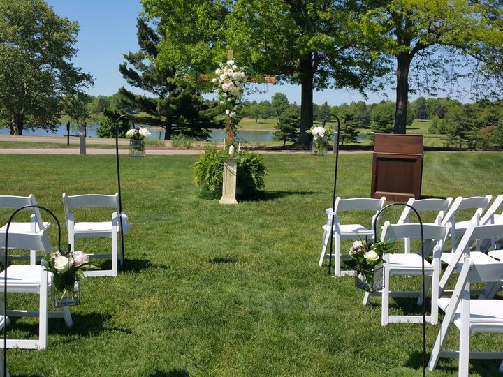 Tmx 1478274954608 Lawn Ceremony.2 Akron, OH wedding venue