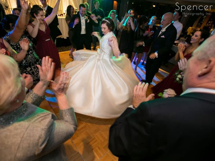 Tmx 34 Bride Twirling In Her Dress At Wedding Reception 51 64613 Akron, OH wedding venue