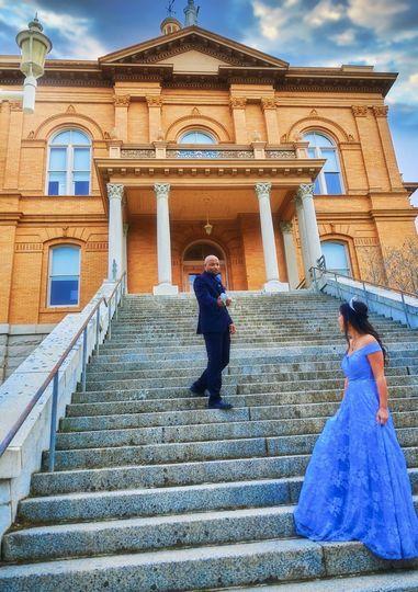 Cinderella themed engagement