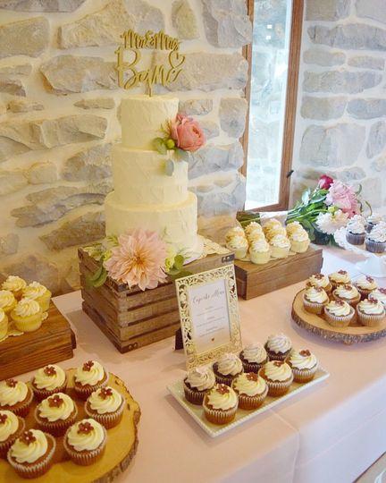 Kyrsten\'s Sweet Designs - Wedding Cake - Harrisburg, PA - WeddingWire