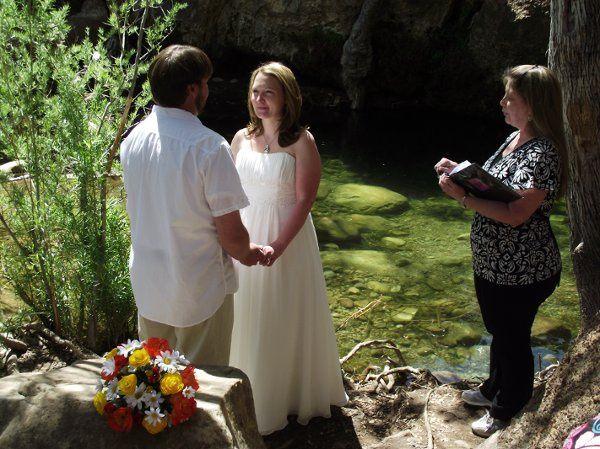 First Creek Waterfall wedding in Red Rock Canyon, Las Vegas, NV