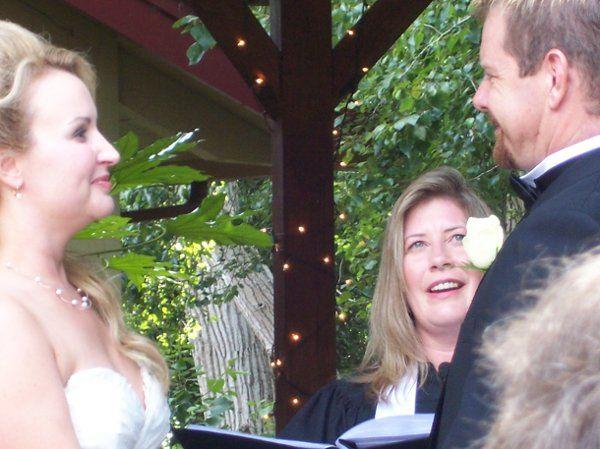 Outdoor Gazebo wedding in Santa Cruz, CA