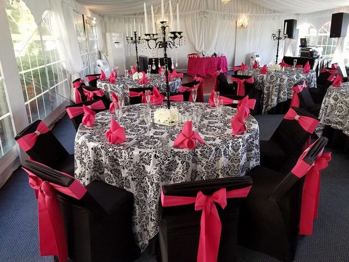 Elegant brunch reception