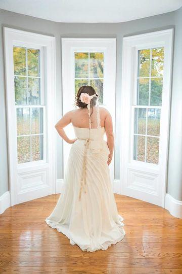 Burlap & Lace Events bride