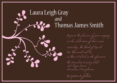 Tmx 1269966561783 Invite3 Philadelphia wedding invitation
