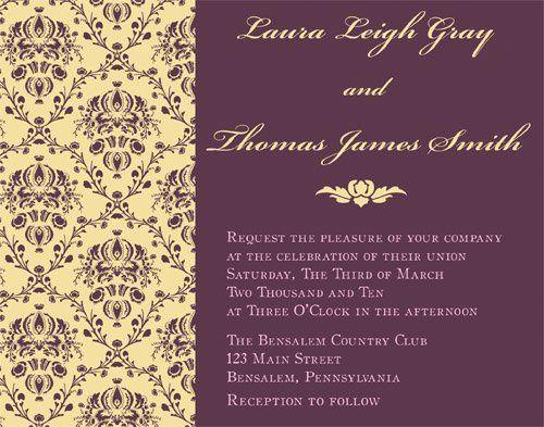 Tmx 1269966561986 Invite4 Philadelphia wedding invitation