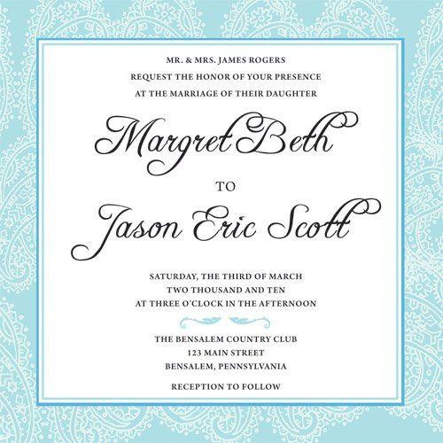 Tmx 1269966562471 Invite5 Philadelphia wedding invitation