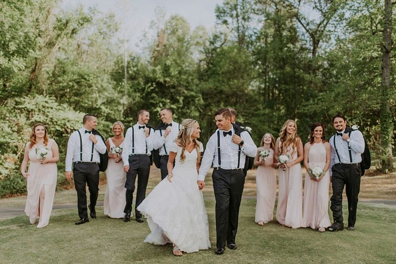 The couple with friends| Connection Photography