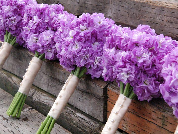 Tmx 1400561979425 Lavender Stock Bouquet Kirkland wedding florist