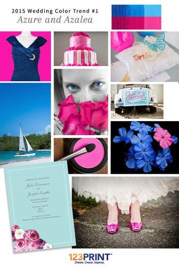 123print azure and azalea wedding ideas